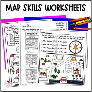 Map Skills and Lap Book