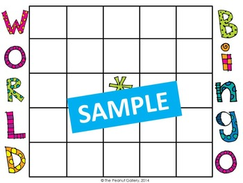 Map Skills and the Five Themes of Geography (Task Cards & Bingo)