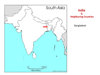 Map Skills for India