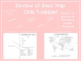 Map Skills review foldable (Interactive student Notebook f