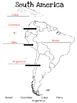 Map- South America