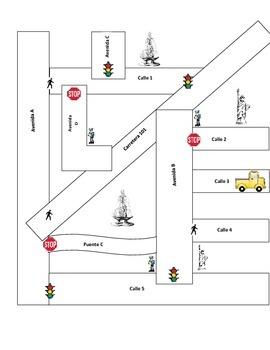 Map Spanish Practice