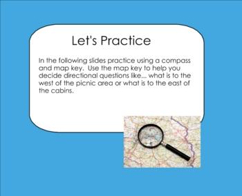 Map Study Smartboard Lesson