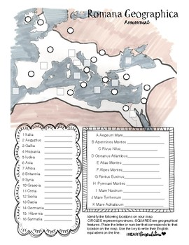 Map Study for Latin Students