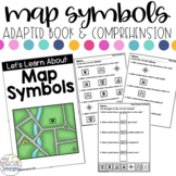 Map Symbols Adapted Book & Comprehension for Special Education