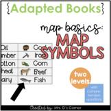 Map Symbols Adapted Books [ Level 1 and Level 2 ]   Map Basics