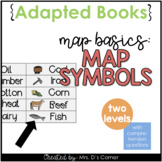 Map Symbols Adapted Books [ Level 1 and Level 2 ] | Map Basics