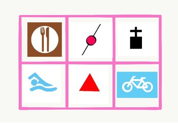 Map Symbols (Bingo Game)