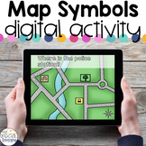 Map Symbols - Digital Activity - Distance Learning for Spe