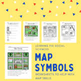 Map Symbols Worksheets - Different Activities to Teach Map Skills