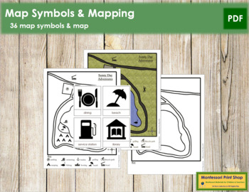 Map Symbols and Simple Map