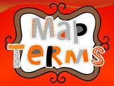 Map Terms Poster Set