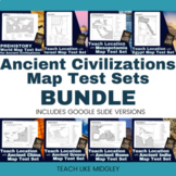 Map Test Set Bundle for Ancient Civilizations