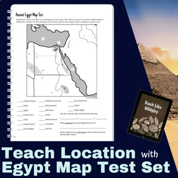Map Test Set for Ancient Egypt