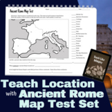 Map Test Set for Ancient Rome