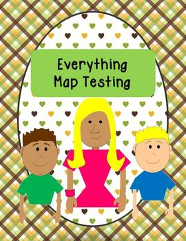 Map Testing Recording Sheets and Student Goal Cards