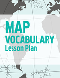 Map Vocabulary Geography Lesson Plan