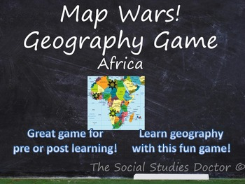 Map Wars! Geography Game (Africa Edition)