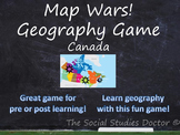 Map Wars! Geography Game (Canada Edition)