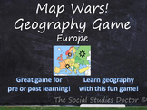 Map Wars! Geography Game (Europe Edition)