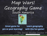 Map Wars! Geography Game (South America Edition)