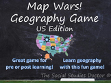 Map Wars! Geography Game: US Edition