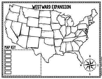 Westward Expansion Map
