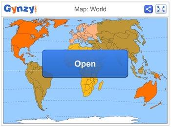 Map: World