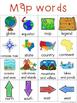 Map Writing Center Tools: Neighborhood words