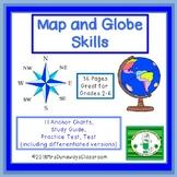 Map and Globe Skills Bundle