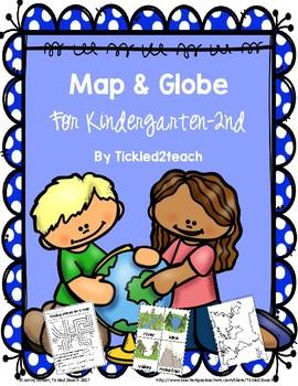 Map and Globe Unit k-2