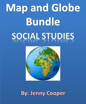 Map and Globe Vocabulary Bundle