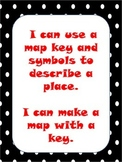 Map and Key Lesson Materials