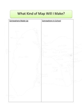 Map and Key Lesson and Materials