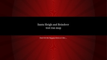 Map for Santa's Sleigh Test Run_ Georgia Social Studies Hi