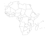 Map of Africa Review Game