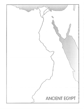 Map of Ancient Egpyt