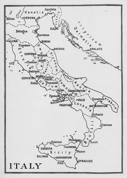 Map of Ancient Italy