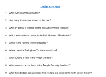 Map of Dublin - Directions practice by Compartiendo Culturas Dublin Map Directions on
