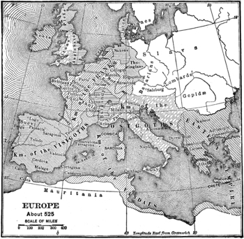 Map of europe c525 ce by ed dehoratius teachers pay teachers map of europe c525 ce sciox Gallery