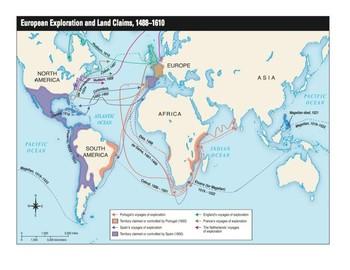 Map of European Exploration