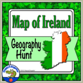 St. Patrick's Day - Map of Ireland Activity