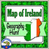 St. Patrick's Day - Map of Ireland Activity