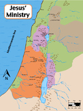 Map of Israel during Jesus time