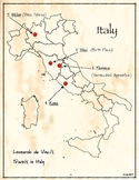 da Vinci's map of Italy (Resource)