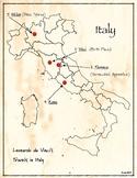 da Vinci's map of Italy (Resource)