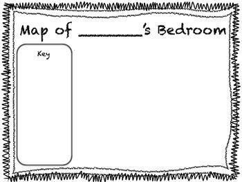 Map of My Bedroom