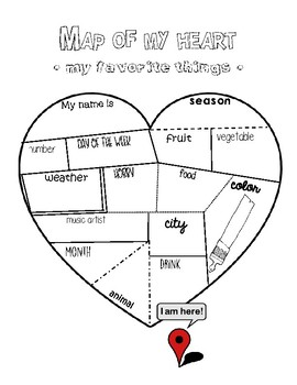 Map of My Heart - English