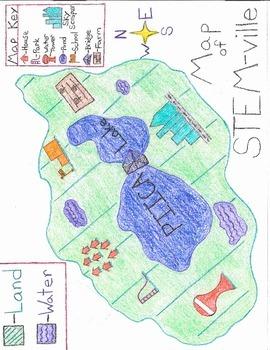 Map of STEM-ville