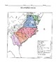 Map of Southern Colonies w/KEY